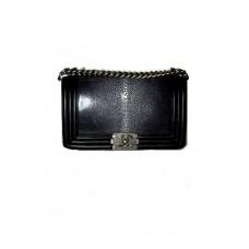 Сумка из кожи ската Chanel Boy Bag 67086-luxe20R