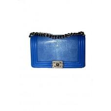 Сумка из кожи ската Chanel Boy Bag 67086-luxe21R