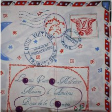 Шелковый платок Louis Vuitton 8046R