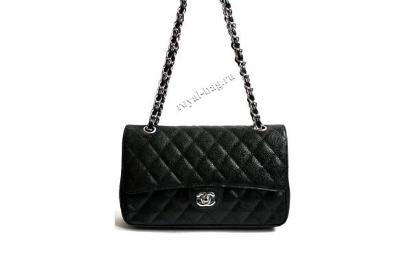 Сумка Chanel 2.55 classic caviar flap bag  1112CR