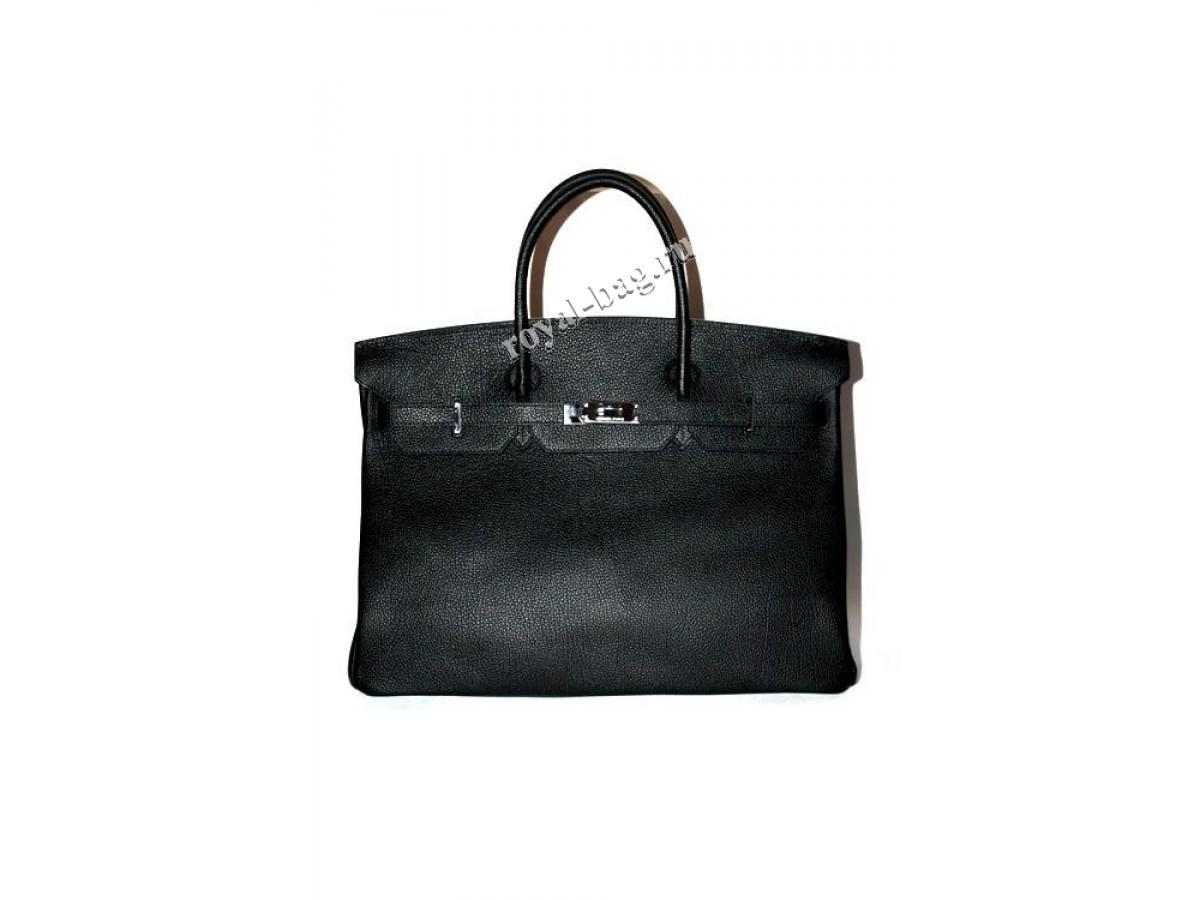 ad649753bd4f Женская сумка HERMES Birkin 30см 12103R, натуральная кожа, черная