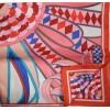 Шелковый платок HERMES 0713R