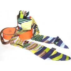 Шелковый шарфик Hermes 4073R