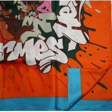 Шелковый платок HERMES 6027-4R