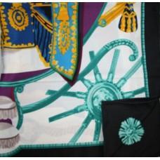 Шелковый платок HERMES 6024R
