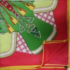 Шелковый платок HERMES 6040R