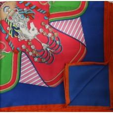 Шелковый платок Hermes 1405R