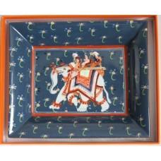 Фарфоровая мелочница, конфетница Hermes 745885-9R