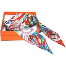 Шелковый шарфик Hermes 4078R