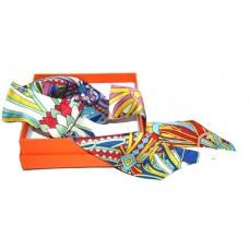 Шелковый шарфик Hermes 4077R