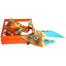 Шелковый шарфик Hermes 4076R