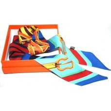 Шелковый шарфик Hermes 4034R