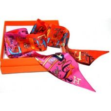 Шелковый шарфик Hermes 4032R