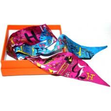 Шелковый шарфик Hermes 4030R