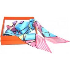 Шелковый шарфик Hermes 4017R