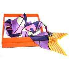 Шелковый шарфик Hermes 4016R