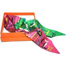 Шелковый шарфик Hermes 4014-1R
