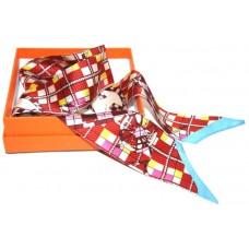 Шелковый шарфик Hermes 4064R