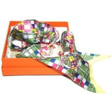 Шелковый шарфик Hermes 4061R
